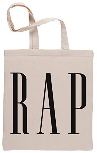 Capzy Rap Borse per La Spesa Riutilizzabili Shopping Bag Beige