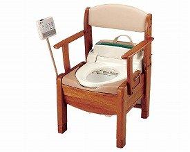 シャワーポータブルトイレ きらく S型/ 48841