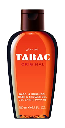 Tabac® Original | Bade- & Duschgel - Original Seit 1959 - sanft zur Haut - mit dem Duft des Originals - spürbar gepflegtes Frischegefühl | 200ml