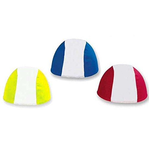 takestop Set 6 Pezzi Cuffie Cuffia in Tessuto per Piscina Nuoto Tuffi Sport TG. Unica Misura Adulto Colore Casuale