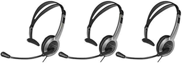 Panasonic KX-TCA430 Over the Head Headset (3-Pack)