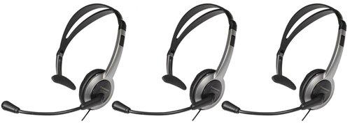 Panasonic KX-TCA430 Over the Head Headset (3-Pack)