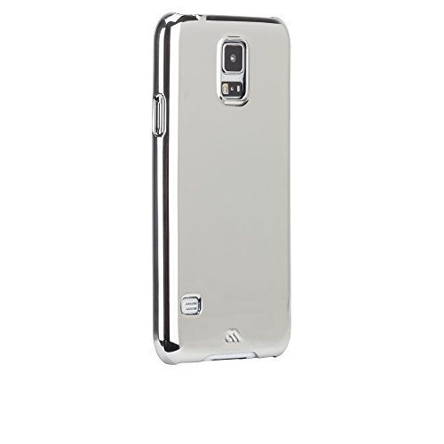 Case-Mate CM030903 Barely There Schutzhülle für Samsung Galaxy S5/S5 Neo silber Designed for Samsung