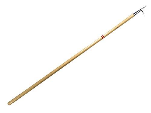 Holz Bootshaken/Boathooks - Länge 180 cm fur Segel, Booten, Yachten - Eco, Profi, Classik, Traditionell, Exklusiv