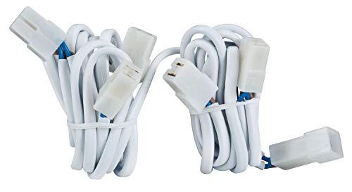 979.75 Paulmann Einbauleuchten Zubehör Kabelsätze mit Steckverbinder für 5 Leuchten 5x20W Weiß 12V