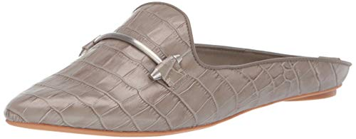 Dolce Vita Women's Gram Mule, Sage Crocodile Embossed Leather, 6.5 M US