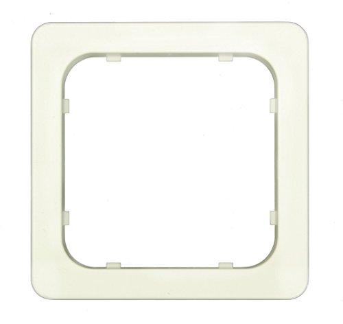 Elero Adapterrahmen alpinweiß für ProLine-Steuergeräte 14 303.0501//Jung-topline, Jung LS 990