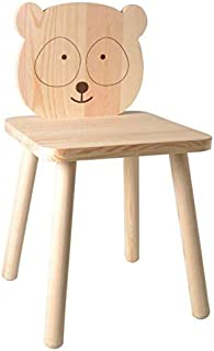 Artemio Chaise en Bois pour Enfant à Peindre 29 x 53 cm - Petit Panda
