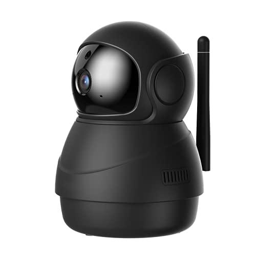 PC540 Telecamera di Sorveglianza WiFi 1080P, Videocamera Interna con Visione Notturna, Notifiche nel Tempo Reale del Rilevamento di Movimento e del Suono