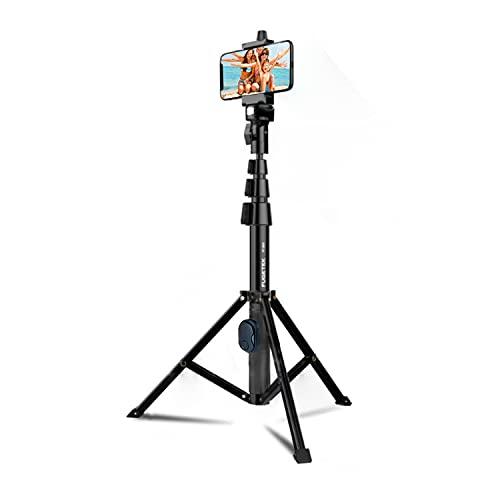 Fugetek 51' Professional Selfie Stick & Tripod, Phone Holder,...