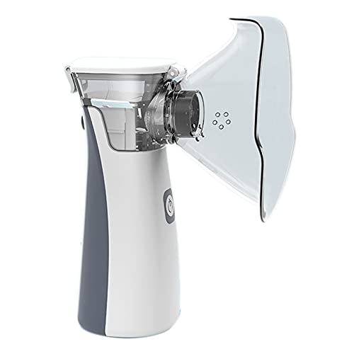 Timagebreze Atomizador Inhalador de Asma de Mano Nebulizador para NiiOs Nebulizador PortáTil Usb de AtencióN MéDica