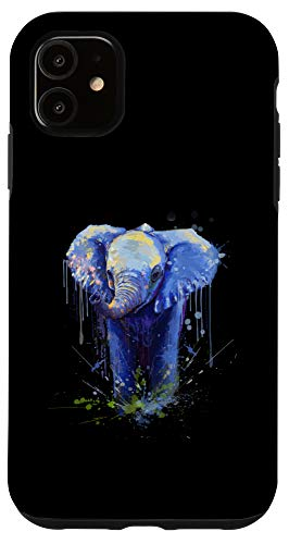 iPhone 11 Elephant Artwork - Big Mammal Elephant Artwork Gift Case