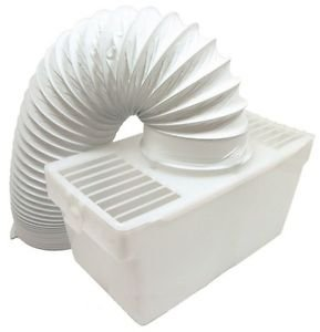 LAZER ELECTRICS Tumble Dryer Condenser Vent Kit Box With Hose for Hotpoint, Indesit & Creda