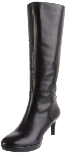 Big Sale Rockport Women's Juliet Knee-High Boot, Black Smooth Calf, 6.5 M US