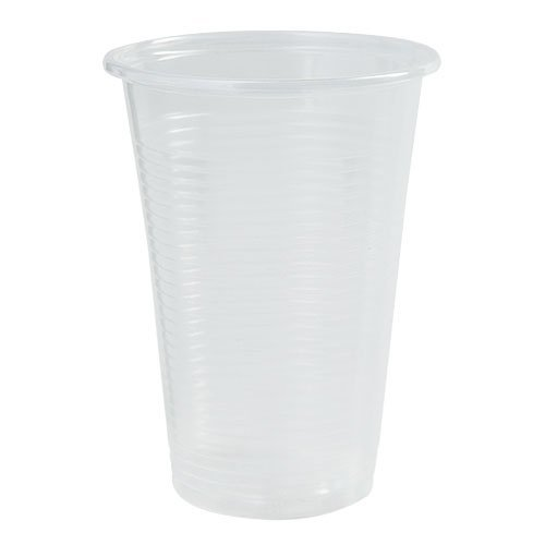 Nicole Home Collection 600 Count Everyday Transparent Plastic Cup, 7-Ounce