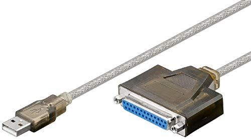 SM-PC® USB 2.0 auf Parallel (DSUB25) Adapter Kabel Stecker Parallele #273