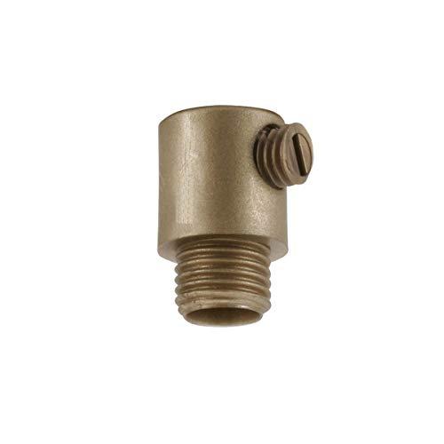 WITTKOWARE Kabelzugentlastung mit Gewinde M10x1, Gold, 5 Stück