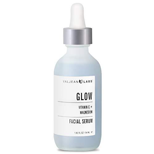 Valjean Labs facial serum, glow, la vitamina c y magnesio