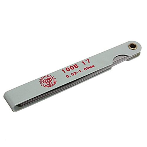 CO RODE Thickness Gap Metric Filler Feeler Gauge 100B 17 0.02-1.00mm