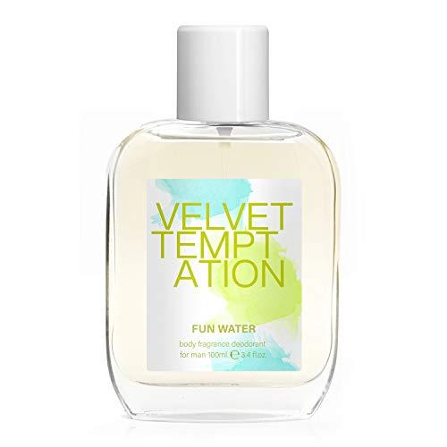 Fun Water - Velvet Temptation Lot de 2 déodorants pour femme, 100 ml
