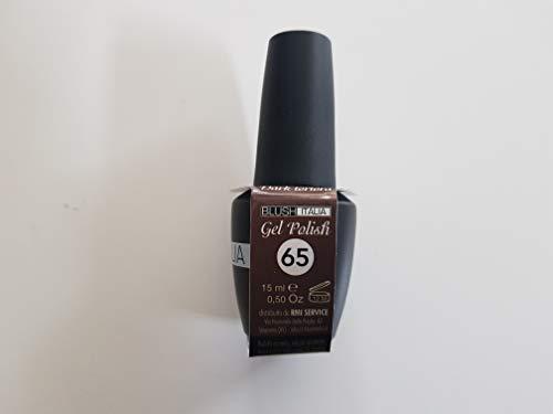 Gel Polish 15 ml semi-permanent blush Italie 96 couleurs ultra couvrance maximale durée (65 - dark taupe)