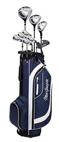 MACGREGOR Damen CG2000 Golfschläger-Set und Tragetasche, Marineblau/weiß, Ladies Left Hand