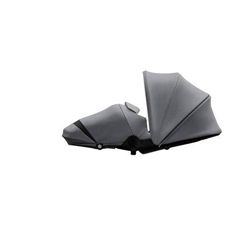 Joolz Hub/Hub+ - Cocoon - Accesorio para silla de paseo - Ergonómico - Diseño Cómodo - Ideal para dormir - Gris Precioso