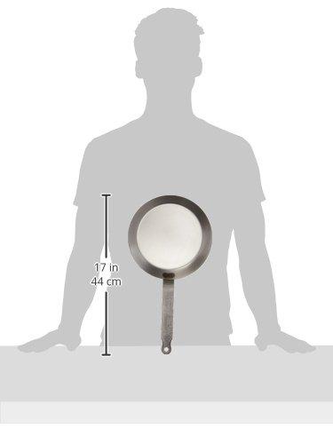 Product Image 3: Matfer Bourgeat 062033 Round Crepe Pan, 8 5/8-Inch, Gray