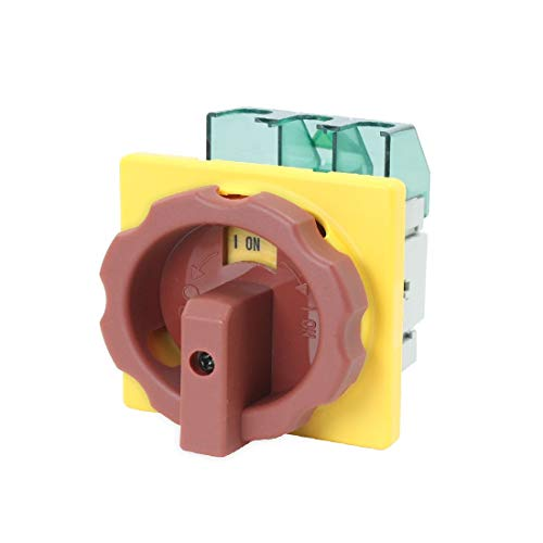 New Lon0167 AC 600V In primo piano 50Hz efficacia affidabile 25A ON/OFF 2 posizioni Interruttore di commutazione della camma di blocco(id:446 73 43 4cd)