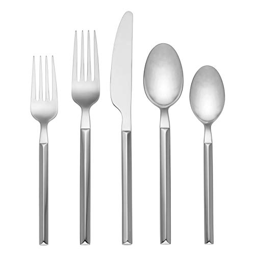 Kate Spade New York Mott Street Flatware 5 Piece Place Setting