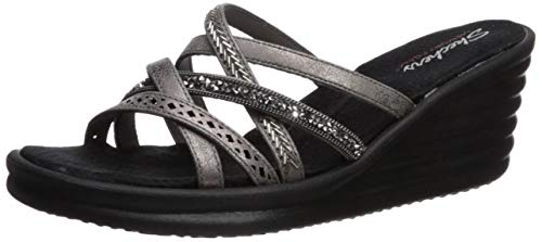 Skechers dames Rumbler Wave-New Lassie Platform Sandalen