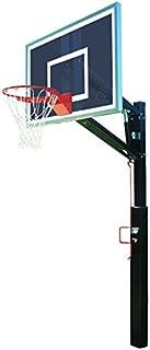 Bison Smoked Lottery Pick Adjustable Basketball Hoop