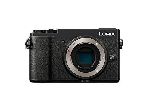 Panasonic Lumix GX9EG-K Systemkamera (20 MP, Dual I.S., Klappsucher, Hybrid-Kontrast AF, 4K, Touch Screen, schwarz)