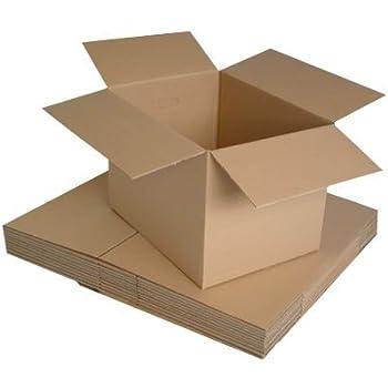 Realpack 10/x scatole da parete Next Day UK Delivery Service away * dimensioni 30,5/x 22,9/x 30,5/cm/ /ideale per trasloco o semplicemente per riporre oggetti Fast Shipping