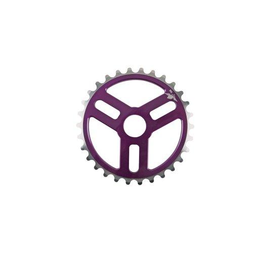 Spank Kettenblatt Tweet Sprocket, Purple, 28, SP-CRK-0010-purple-28