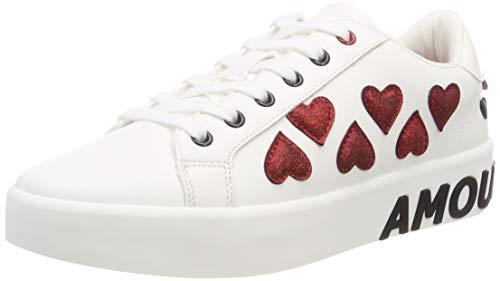 ALDO Damen GALERICLYA Sneaker, Weiß (White 70), 36 EU