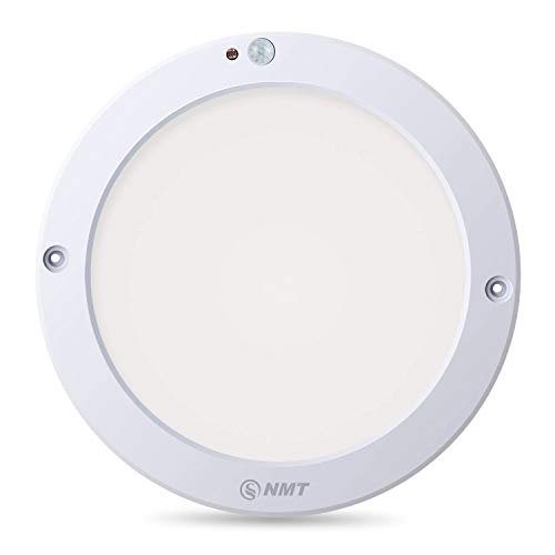 S NMT Motion Sensor Led Ceiling Light 1200 Lumen,100 Watt Equivalent for Stairs,Basements,Porches,Closets,Hallways,Indoor/ Outdoor,Daylight White 4000K