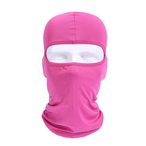 Protection du Cou De Ski De Balaclava De Masque De Visage Complet Coupe-Vent Unisexe D'ECYC pour L'éQuitation, Sports De Plein Air De Ski