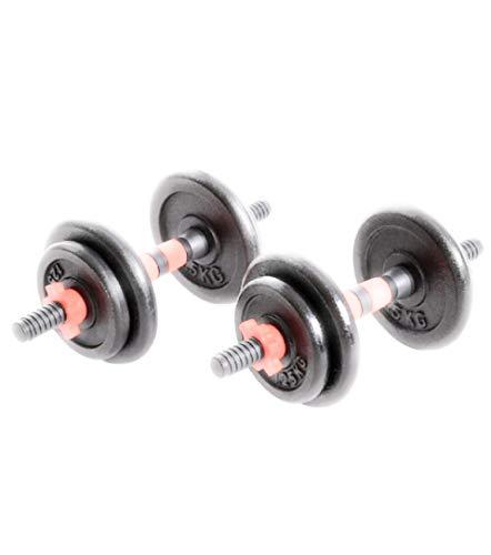 Everlast Unisex Cast Dumbbells 20kg-Set