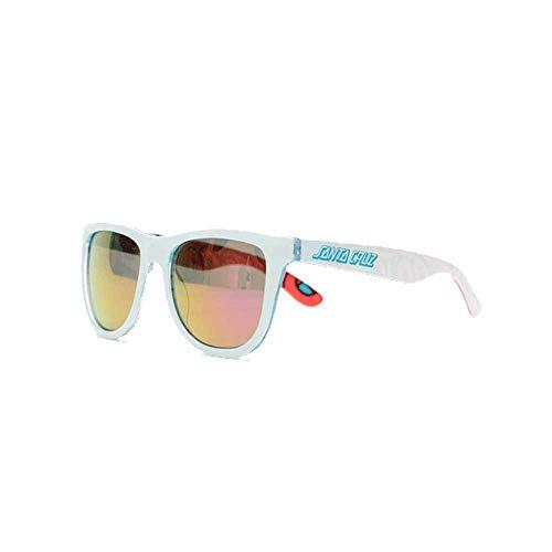Santa Cruz Screaming Insider - Gafas de sol, color blanco y azul