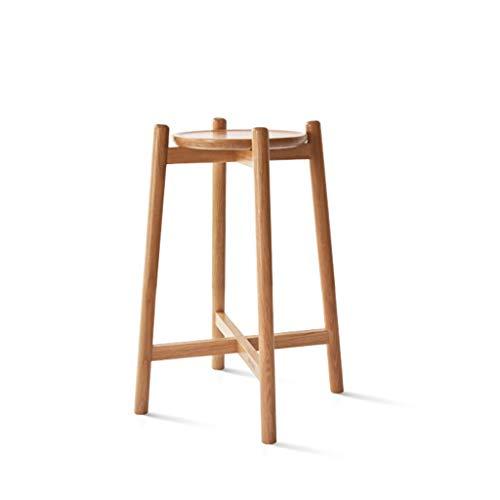 Todo el estante de la planta del roble del soporte de flor del macizo de madera, sala de estudio simple bonsai del estudio del dormitorio de la sala de estar marco interior de la decoración del sopo