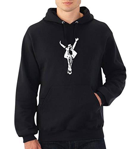 Michael Jackson Mythic Dance Moonwalk Kapuzenpullover Kapuzen Pullover Weihnachten Geschenk LG Black Hoodie