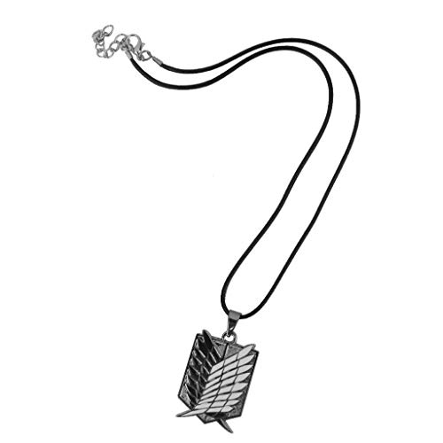 "Halskette mit Logo von ""Anime Attack on Titan SNK Recon Corp"", Shingeki no Kyojin, Mikasa Ackermann"