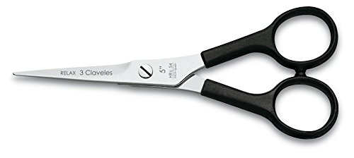 3 Claveles 12615 Tijera de corte para peluquero, 6