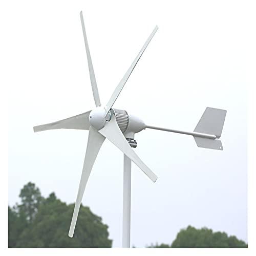 Generador de viento El generador de turbinas eólicas de 1KW 24V 48V para uso en el hogar incluye el controlador de carga gratuito Para marina, RV, hogar, generador de molino de viento para