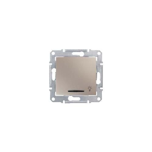 Schneider Electric SDN1800168 Pulsador Símbolo Luz con Lumi