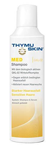 Thymuskin Med Shampoo - Mittel gegen starken Haarausfall für Frauen & Männer - aktiviert neuen Haarwuchs - durch klinische Studien bestätigt - keine Nebenwirkungen - 100ml