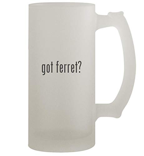 got ferret? - 16oz Frosted Beer Stein, Frosted