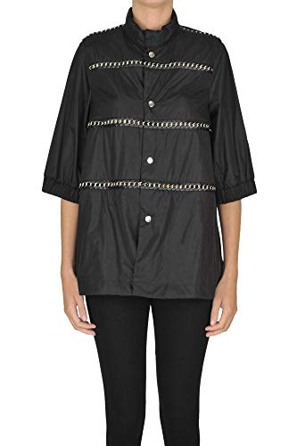 Luxury Fashion | Moncler Dames MCGLCSG0000A7002E Zwart Nylon Outerwear Jassen | Seizoen Outlet