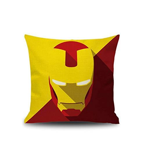 BHG Iron Man/Panter/Venom/Rocky Kussens, Linnen Slaapkamer Slaapbank Slaapbank 45 * 45 Cm